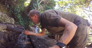 Hartung an den Corros de Epina