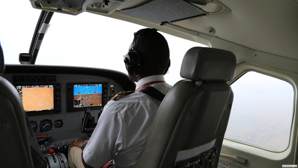 Flug nach Amboseli