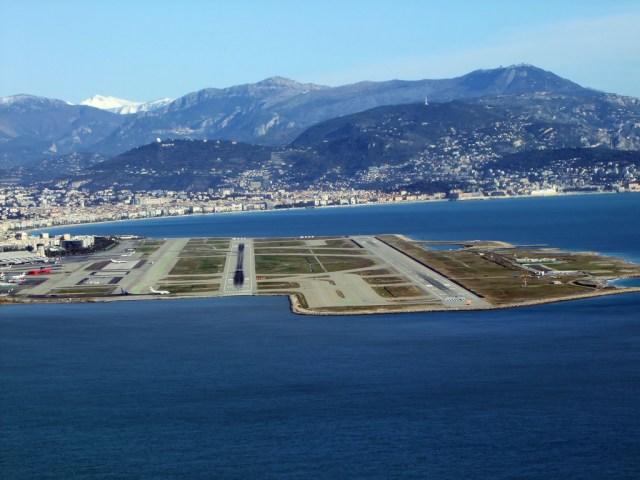 Nice France Airport Runways