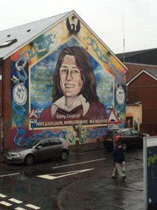 Bobby Sands Wall Mural