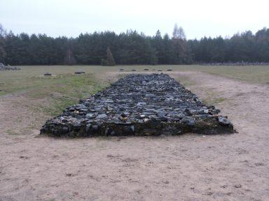 Cremation pit
