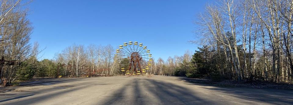 Прип'ятське чортове колесо, Прип'ять, Київська область, Україна