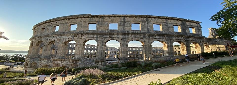 Amfiteatar u Puli, Pula, Istra, Hrvatska
