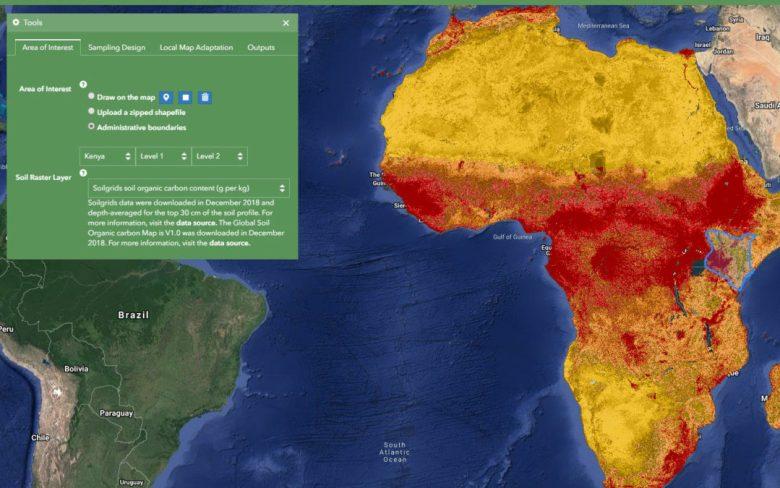 Simplyfying soil data management in sub-Saharan Africa
