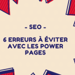 erreurs a eviter power pages