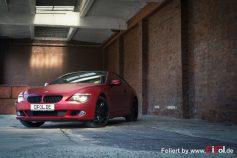 BMW 6er - Cherry Red - CiFol-Werbetechnik (6)