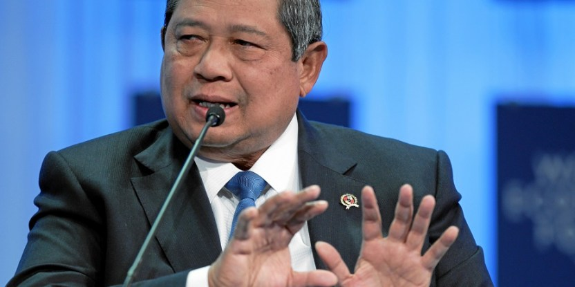 Presiden RI Susilo Bambang Yudhoyono. Foto oleh World Economic Forum