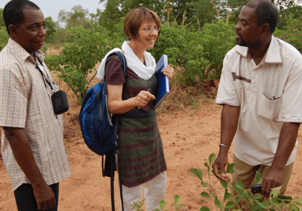 Catharine Watson's project has resulted in the planting of more than 7 million trees in northern Uganda, reducing pressure on the natural forest.