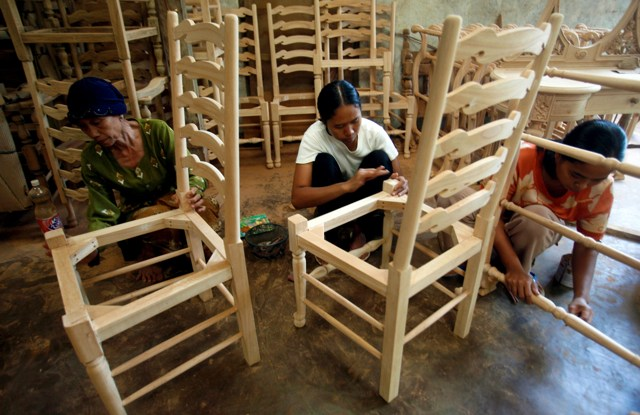 If Indonesia is not careful, soon there could be no trees left to carve.