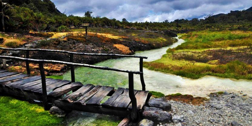Los objetivos de restauración  incluyen la protección de las cuencas hidrográficas y el fortalecimiento de la biodiversidad. Foto: Neil Palmer / CIAT.