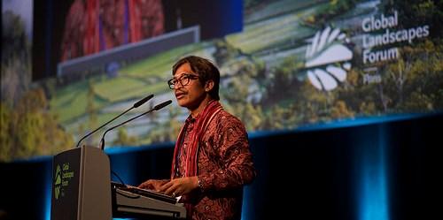 Masyarakat adat termasuk salah satu unsur bentang alam yang dapat menjadi pengerak kebijakan iklim. Pilar Valbuena/CIFOR