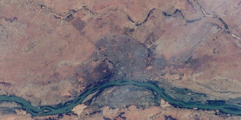 Niger, où les agriculteurs locaux ont restauré 5 millions d'hectares de terres dégradées. Image: NASA