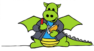 Meet IgGy - the friendly Bioss dragon mascot!