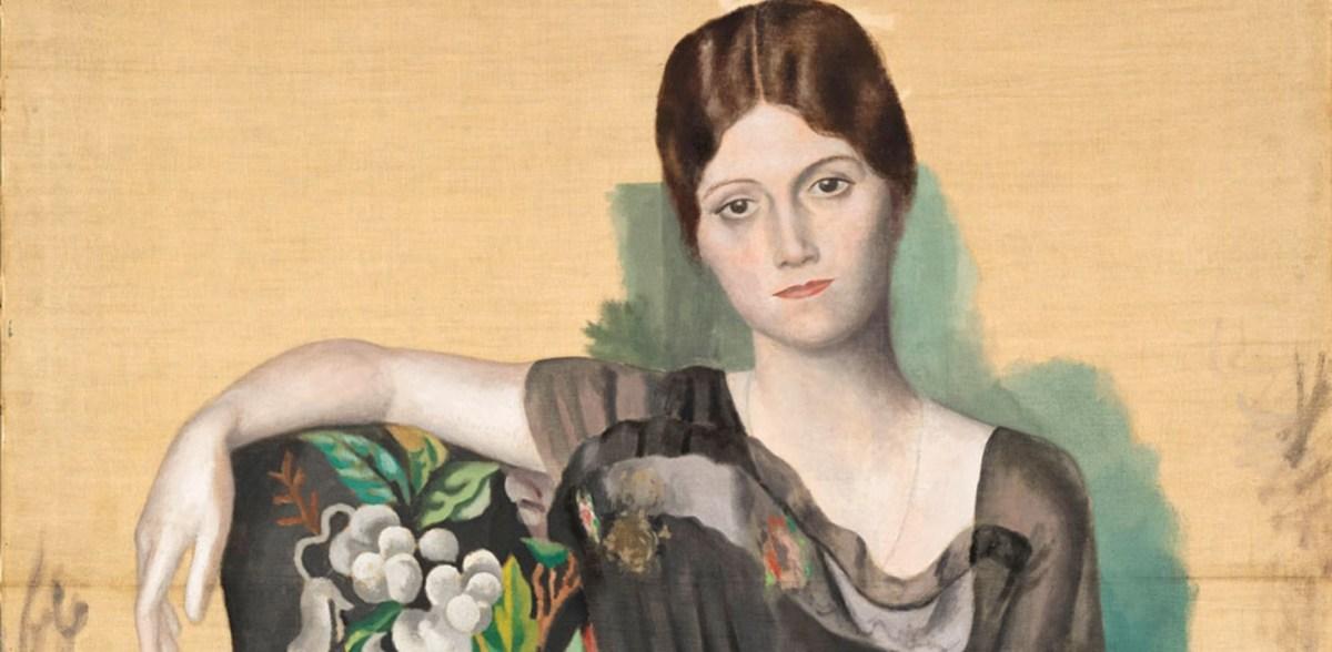 Exposition Olga Picasso, Evolution Picturale d'une Histoire d'Amour