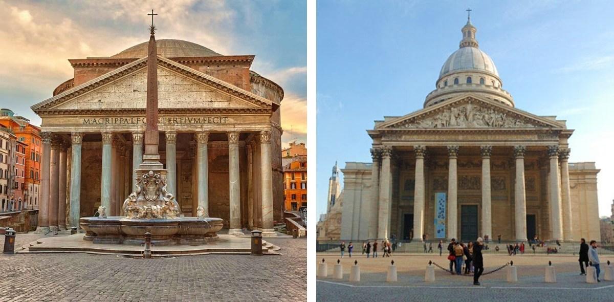 Etes-Vous Panthéon Romain ou Parisien?