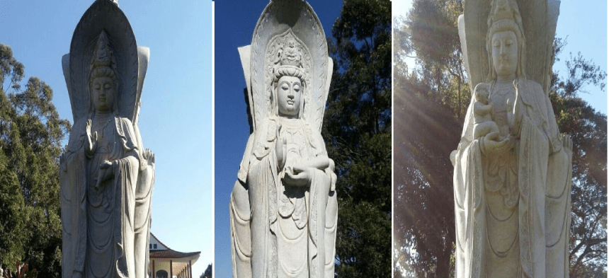 Sangha - Dharma - Buddha