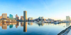 inner harbor Baltimore Maryland