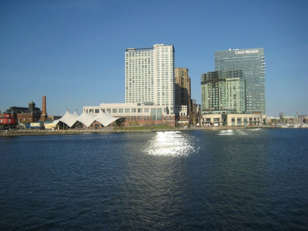 View of Baltimore Waterfront