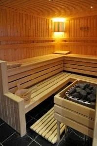 sauna lambris