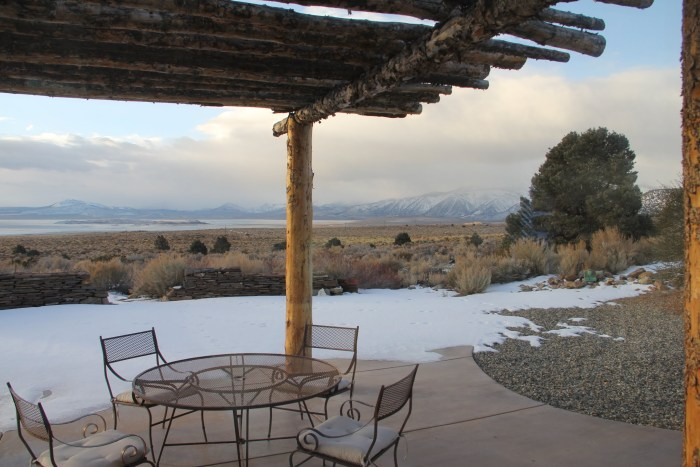 view from wild rose w: porch