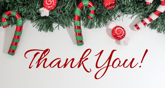 Thank you, Readers, for a Lovely 2018!