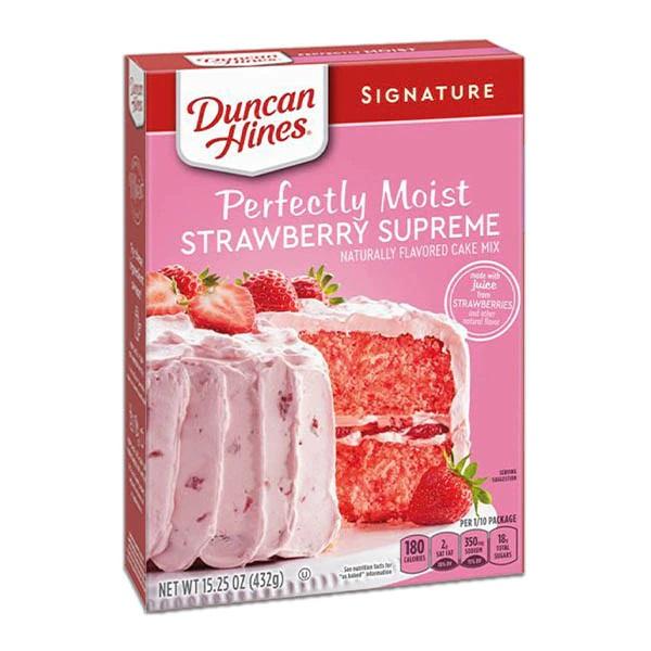 Harina para pastel de Fresa Duncan Hines - Claro Shop