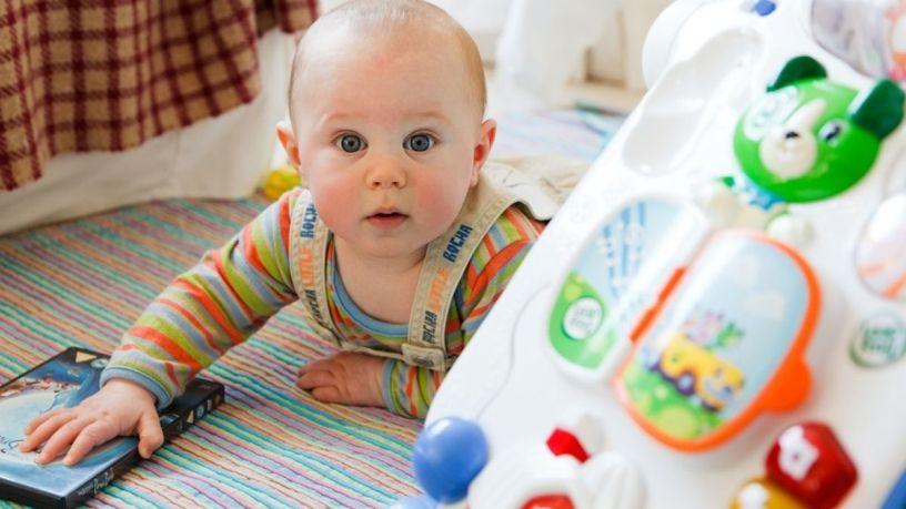 5 productos para la estimulación temprana de tu bebé