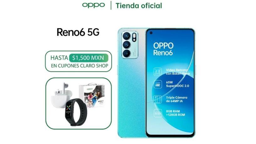 OPPO Reno6 5G: Un atractivo diseño para una alta tecnología