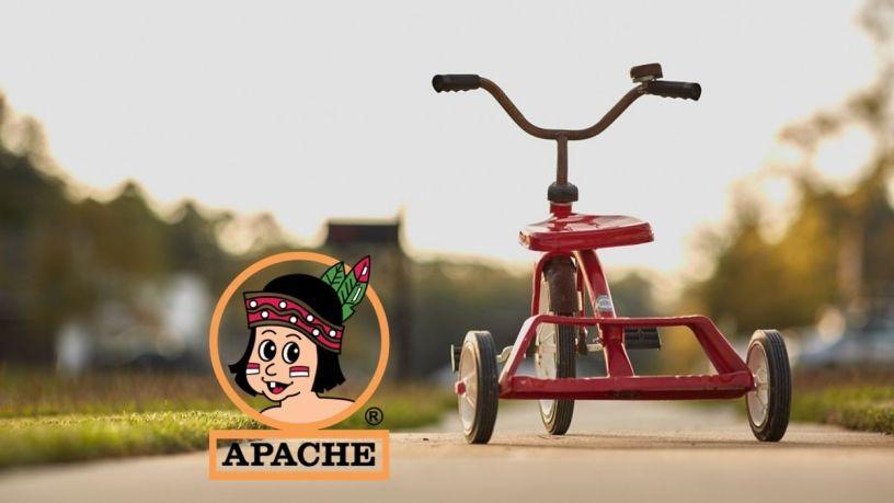 Triciclos Apache, ¿aún existen estos juguetes?
