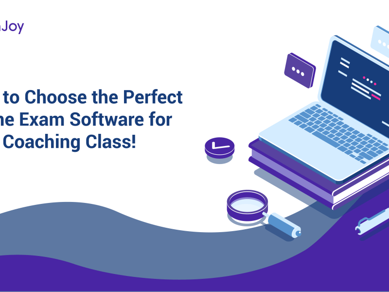 Blog banner- how to choose the perfect online exam software for coaching classes