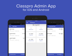classpro - owner admin app for android and ios