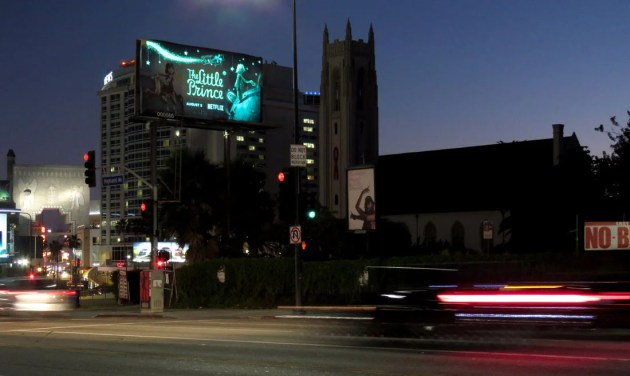 The Little Prince Billboard at Night.jpg
