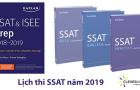 Lịch thi SSAT năm 2019
