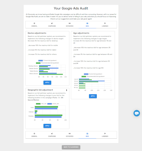Google Ads Audit