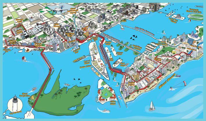 map-miami-aqua-tours - click & boat