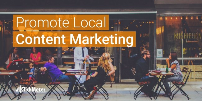 Improve local content marketing