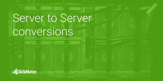 server to server conversions
