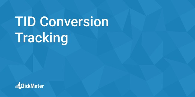 tid conversion tracking