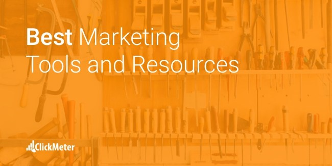 best marketing tools and resources