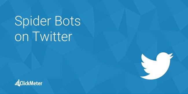 Spider bots twitter