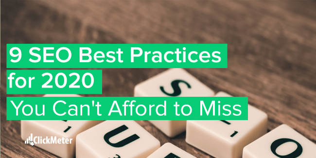 9 seo best practices for 2020