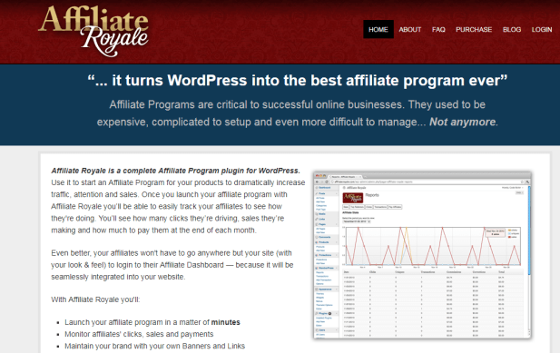 getting an affiliate link