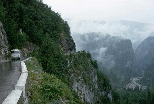 Caucasus Mountain Road, Rusia