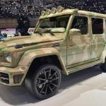 Mansory G63 Sahara camuflat costa peste 140.000 de euro