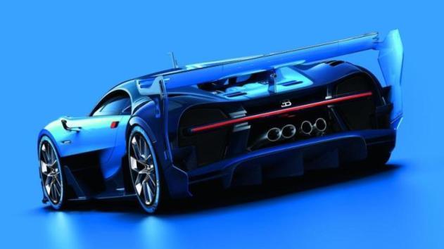 Imagini concept Bugatti Vision Gran Turismo 3
