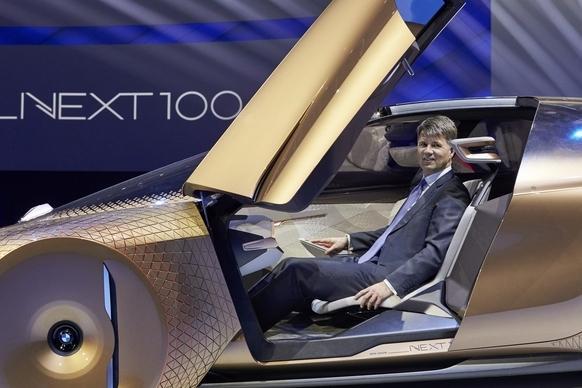 BMW Vision Next 100 concept masina aniversare 2