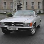 Mercedes SL350, masina lui Nicolae Ceausescu vanduta la licitatie cu 50.000 euro