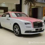 Rolls-Royce Wraith: Traieste viata in roz!