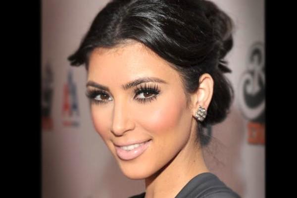 Kim Kardashian con Turkish Delight sulle labbra