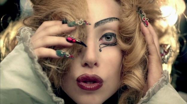 "Dal videoclip ""Judas"""